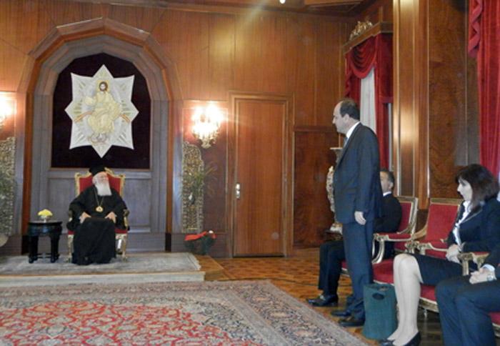 Ο Δήμαρχος συνάντησε στο Φανάρι τον Οικουμενικό Πατριάρχη κ.κ.Βαρθολομαίο.