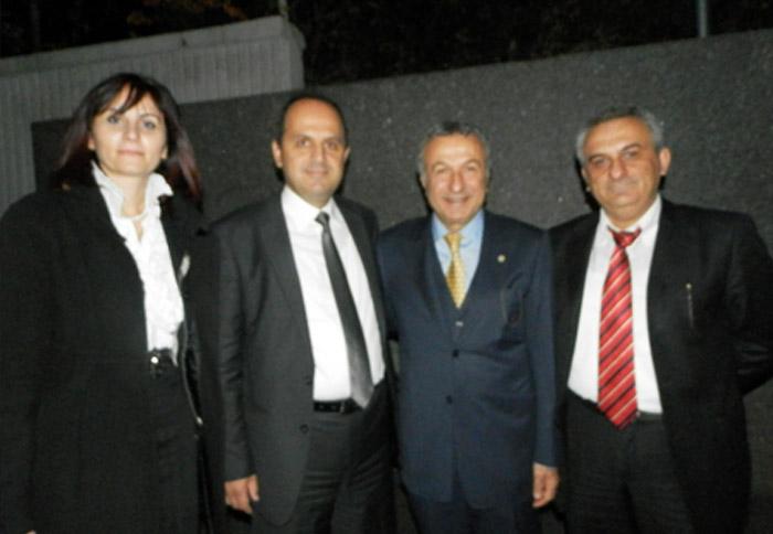 Ο Πρόεδρος τουριστικών πρακτόρων Κωνσταντινούπολης κ. Μπαβαράν Ολοσόι.