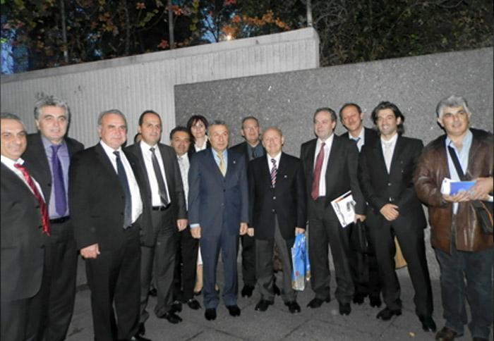 Ο Πρόεδρος τουριστικών πρακτόρων Κωνσταντινούπολης κ. Μπαβαράν Ολοσόι