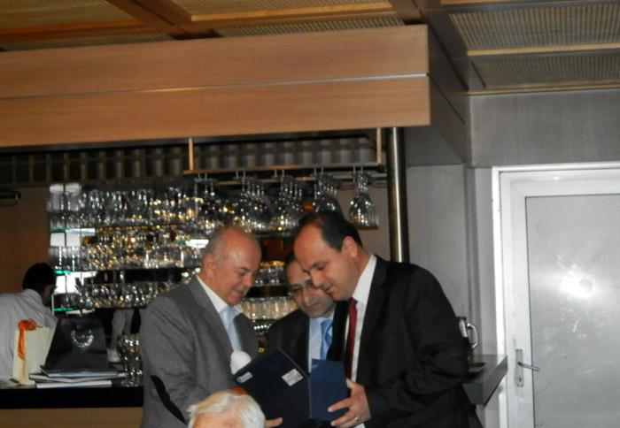 Σημαντική ήταν η συμβολή του Προέδρου της Πανελλήνιας Ένωσης Καππαδοκικών Σωματείων, κ Θεοφάνη Ισακίδη για την επιτυχή έκβαση της επίσκεψης.