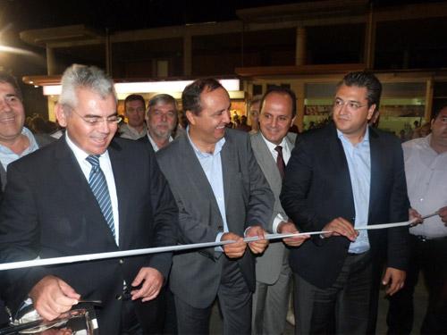 Τα εγκαίνια τελέστηκαν παρουσία του  Αναπληρωτή Υπουργού  Αγροτικής Ανάπτυξης και Τροφίμων  Μάξιμου Χαρακόπουλου, χοροστατούντος του Πανοσιολογιότατου Αρχιμανδρίτη π.  Καλλίνικου Δοράκη.
